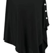 Button Wrap - Black