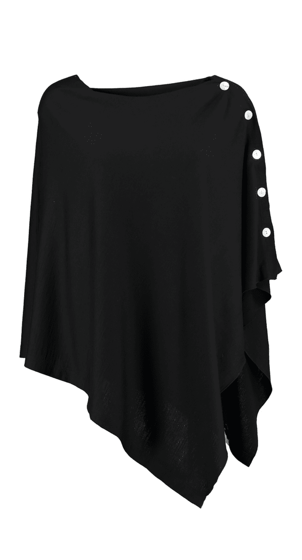 Button Wrap - Black