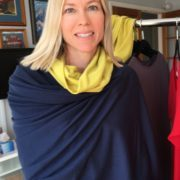 Merino Snuggly Wrap with snood