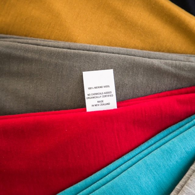 100% NZ made merino garments
