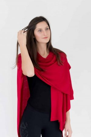 Merino Over Shoulder Cape
