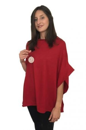 Merino Side Trim Cape