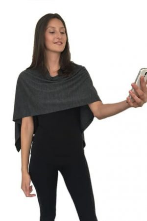 Merino Small Shoulder Wrap