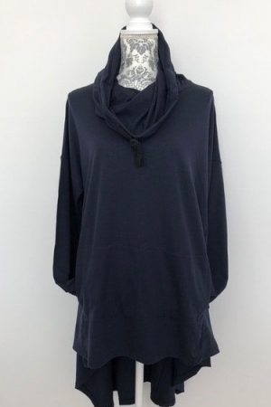 merino wool hooded top