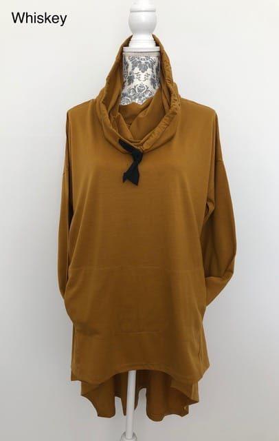 merino wool hooded top