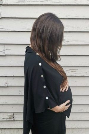 Maternity Merino Wrap Plus