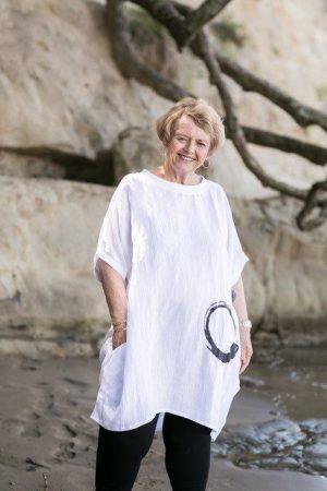 Linen Tunic Dress – Plus Sizes