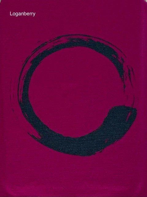 merino broken circle print
