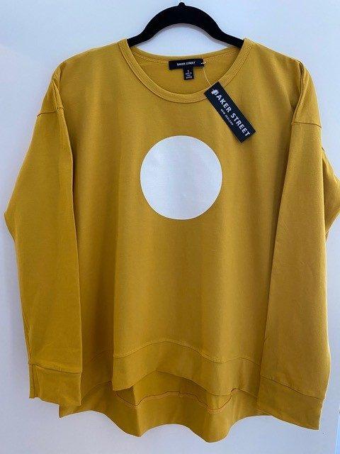 cotton/lycra sweatshirt